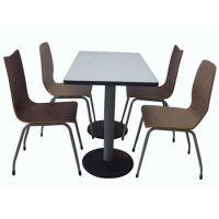 供应肯德基快餐桌椅,麦当劳桌餐厅桌椅,白云区餐厅家具厂家