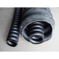 重庆四川贵州厂家价格规格波纹管打孔管PVCPE管单双壁管穿线管