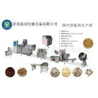 鼎润DSE65锅巴机沙拉条生产线设备