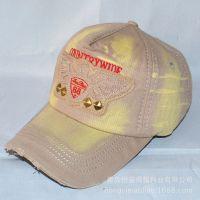 Hard Caps欧美风格贴布刺绣男女士棒球帽户外运动太阳帽遮阳帽