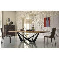 美式乡村创意铁艺实木餐桌餐厅咖啡厅桌子做旧复古家用餐桌可定做