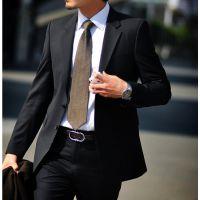 男装男士西服套装韩版西装修身商务休闲职业正装新郎伴郎结婚礼服