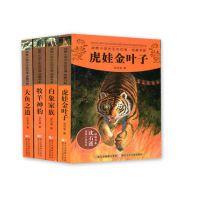 沈石溪动物小说全集4册全套少儿童小说书籍9-12岁小学生课外读物