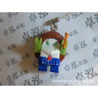 供应动漫玩具 塑胶挂饰 机器人挂饰系列 塑胶公仔礼品批发