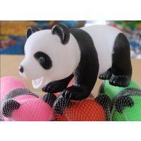 厂家现货直销 超萌熊猫捏捏叫PVC玩具 搞怪整蛊发泄捏捏响玩偶