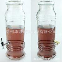 新款无铅玻璃泡人参瓶 加高玻璃瓶 竹节瓶 酿酒瓶