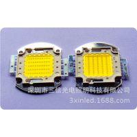 50W集成led光源 采用台湾光宏35芯片 10串5并 正白6000K