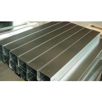 电缆桥架槽式铁线槽镀锌板不锈钢桥架喷漆喷塑桥架 订做100*50*1