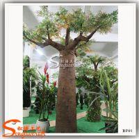 供应景区装饰仿真树 人造非洲面包树 酒店装饰专用罗蜜树