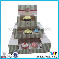 系列杯子蛋糕盒 生产定做 面包纸盒 蛋糕盒 环保安全印刷