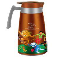 低价批发 几米 不锈钢真空咖啡壶 JM-CP220 1.8L超大容量咖啡壶