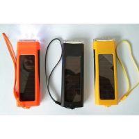 681太阳能充电器 500毫安手机应急充电宝 带充电功能太阳能电筒