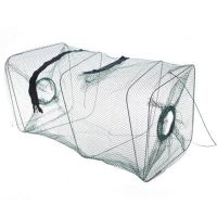 D2968 质量超好折叠虾笼捕鱼笼捕虾网地笼子龙虾网渔网渔具0.15KG