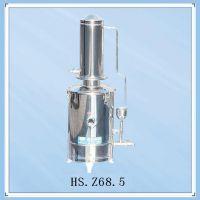 供应中兴伟业5L不锈钢蒸馏水器,HS.Z68.5