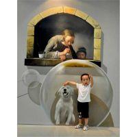 潍坊3D广告设计 3D错觉艺术 视觉艺术展