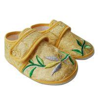 一件代发 绣花鞋 宝宝布鞋 婴儿学步鞋 女童软底鞋 批发供应
