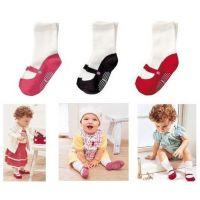 量贩店热卖官网同步婴儿鞋袜 MINM鞋袜中筒袜 宝宝芭蕾鞋袜7027A
