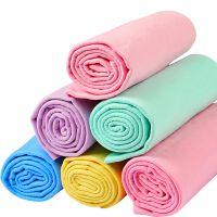 厂家直销 大号加厚洗车毛巾吸水干发鹿皮巾擦车巾洗车布汽车用品