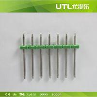 厂家直销MBP1.3/5.0 排针式接线端子 欧式接线端子大电流接线端子