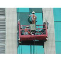 广州佛山珠海玻璃幕墙维修安装更换、高空电动吊篮出租