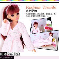 乐吉儿H26A-3 芭比娃娃梦幻卧室女孩玩具套装 生日礼物过家家批发