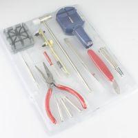 多功能修表调表带换电池工具16件套 专业修表拆卸组合套装批发