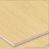 泛林木业 白源木皮饰面板103 多层实木板 家庭室内装潢材料