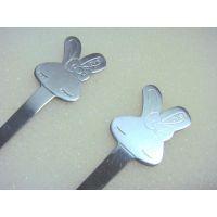 广告促销礼品不锈钢卡通餐具勺叉 儿童调羹叉子 迷你可以小勺小叉