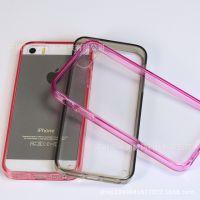 新型号上市苹果iphone5 5sTPU软边亚克力全透明可弯曲不断超强