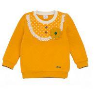 HG14秋冬季韩版ALFONSO童装女童空气棉加厚长袖T恤打底衫原单