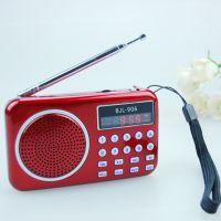 易天兴(BJL-906)便携 插卡收音机音箱 充电显示屏手电筒