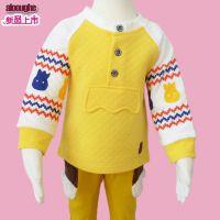 2015年alooughe品牌童装春季男孩空气棉T恤衫^春季童装首发^