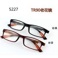 正品牌高档记忆TR90时尚老花镜 抗疲劳树脂老花眼睛超轻52275229