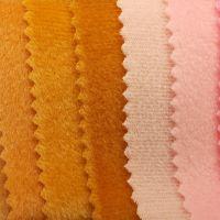 供应现货批发 玩具毛绒面料抱枕布料短毛绒