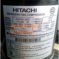 供应日立压缩机503dh-80c2y日立5匹压缩机中央空调压缩机日立带回油管