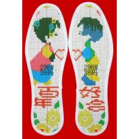 供应十字绣针孔鞋垫图案价格信息