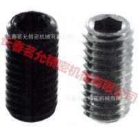 长期供应HALDER的产品(不锈钢)无头内六角螺丝PSW/PSSW