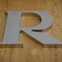 直销 不锈钢拉丝字 金属字 定做门头招牌广告字 不锈钢平面字