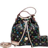 广州时尚女包批发 2014新款欧美潮流品牌女水桶包单肩包斜挎包