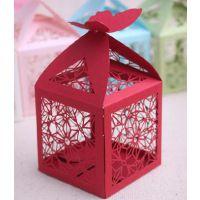 糖果盒新款镂空喜糖 欧式风格糖果盒淘宝热卖巧克力纸盒礼品盒婚礼费列罗巧克力盒珠光纸糖果盒厂家直供