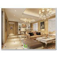 南宁龙光普罗旺装修案例三室两厅欧式风格样板房欣赏【南宁悦居装饰】