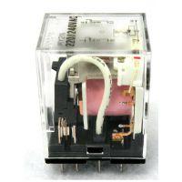 100%日本进口欧姆龙小型方触点继电器MY2N 36VAC(S)