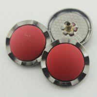 【厂家供应纽扣】图:玫瑰金合金钮扣