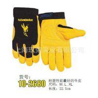 批发 减震机械师手套10-2680(牛皮皮革) 适合机械修理 外形时尚
