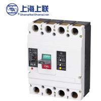 供应上海上联RMM1L-400A/4P型剩余电流保护断路器、漏电断路器价格 空气漏电保护开关