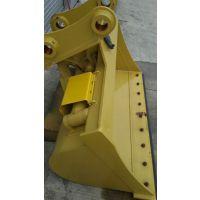 龙工LG6150挖掘机倾斜斗 挖土机清洁斗