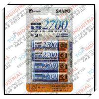 HR-3UG 1.2V,SANYO镍氢充电电池,NI-MH2700