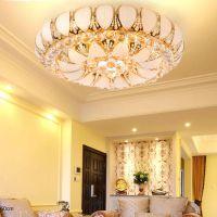 厂家直销金色水晶灯 小树叶灯吸顶 水晶灯 传统水晶灯 灯饰厂家