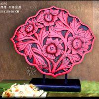古典创意家居饰品  婚房装饰树脂摆件——花开富贵BJ270