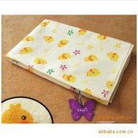 大号黄色小鸭尿垫 婴儿大隔尿垫防水宝宝隔尿垫纯棉透气9014